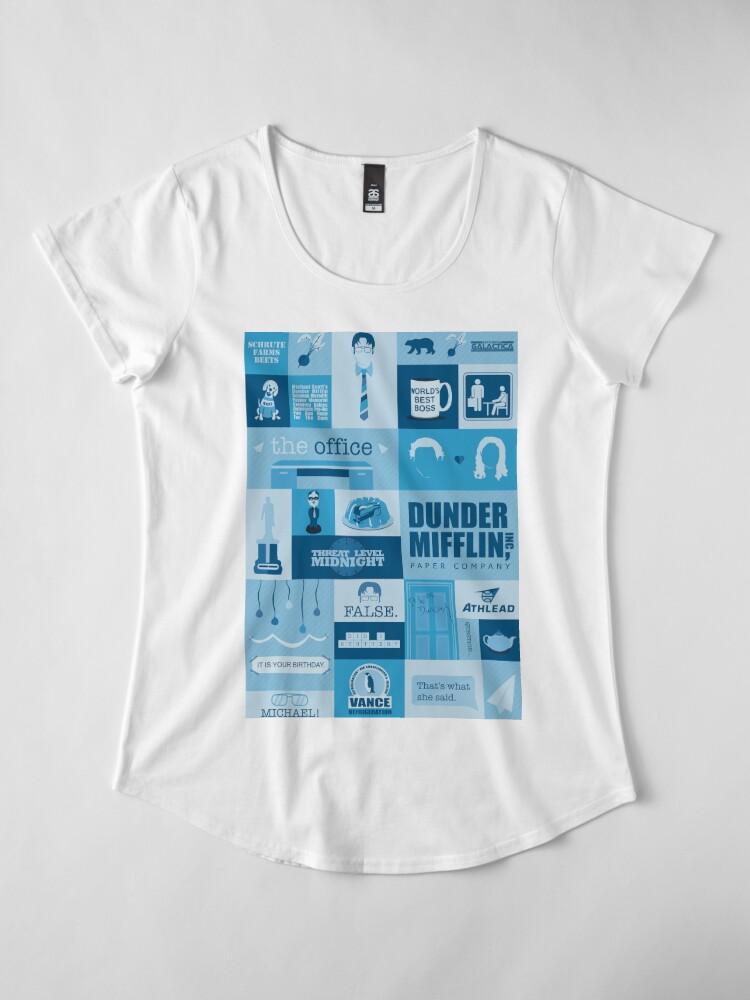 Alternate view of The Office Premium Scoop T-Shirt