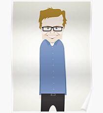 Steve Merchant. Poster