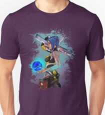 Camiseta ajustada Borderlands 2 Maya the Siren Splatter Tee