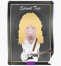 This Is Spinal Tap. David St. Hubbins. Poster