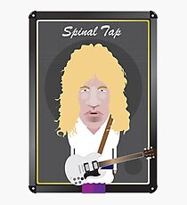 This Is Spinal Tap. David St. Hubbins. Photographic Print