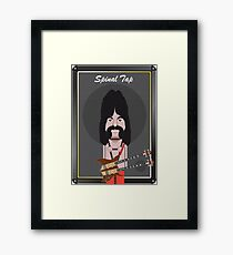 This Is Spinal Tap. Derek Smalls. Framed Print