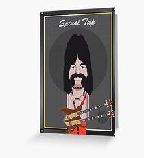 This Is Spinal Tap. Derek Smalls. Greeting Card