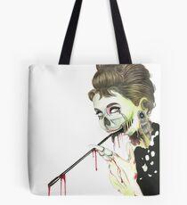 Zombies at Tiffany's Tote Bag