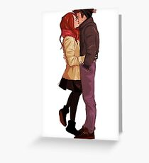 Stiles and Lydia  Greeting Card