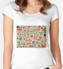 AIRLINES Fitted Scoop T-Shirt