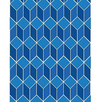 Blue Geo by umarshamir