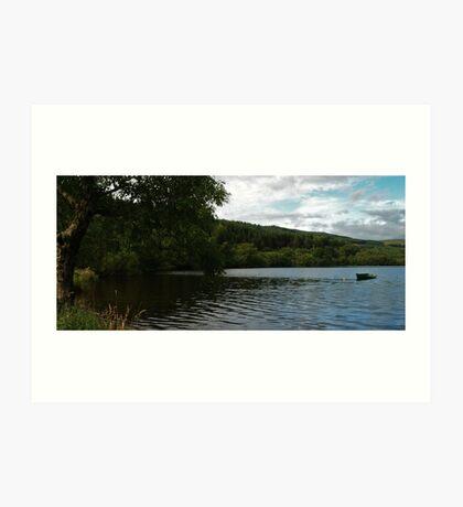 Loch Avich Art Print
