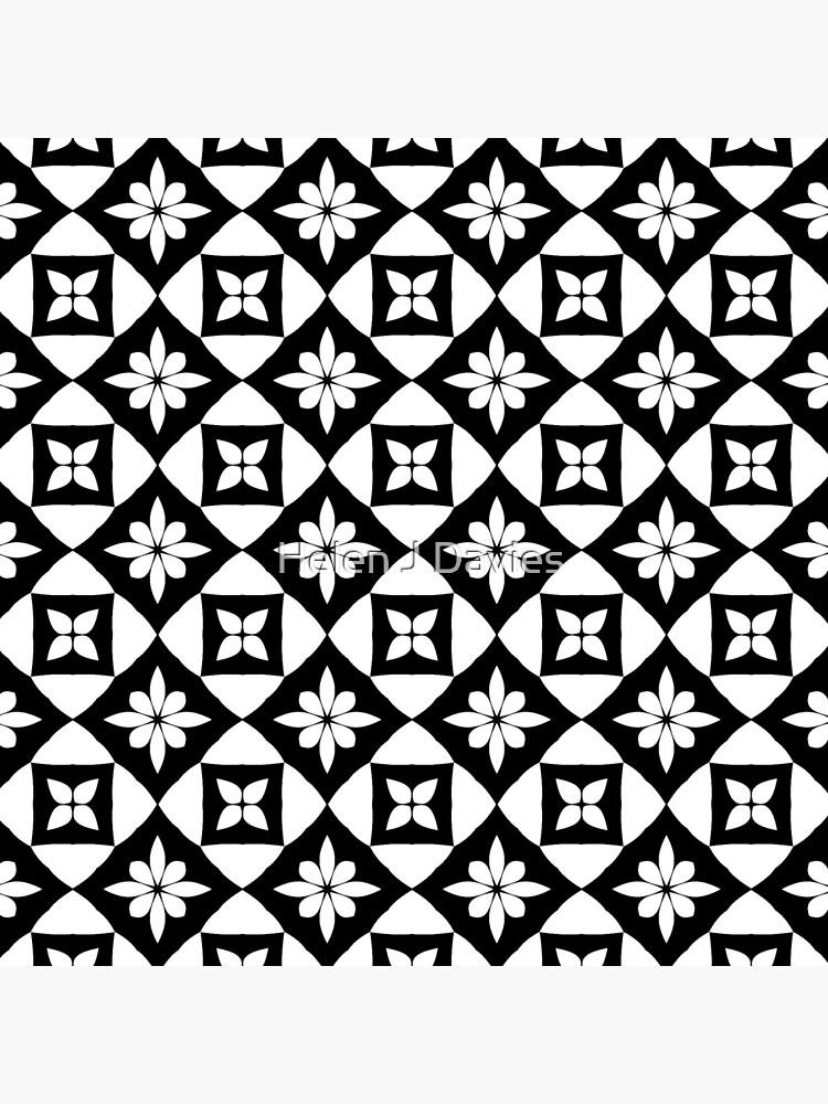 Floral Geometric Fake Lace pattern de Beliria