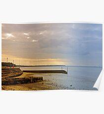 Sunny Interlude on Ryde Esplanade Poster
