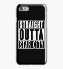 Straight Outta Star City iPhone Case/Skin