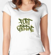 Fort Greene Fitted Scoop T-Shirt