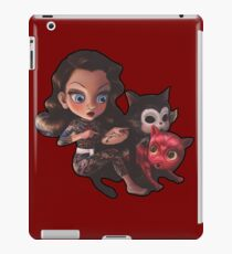 drawings for cats iPad Case/Skin