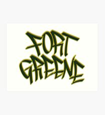 Fort Greene Art Print