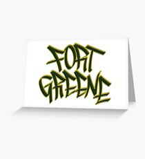 Fort Greene Greeting Card