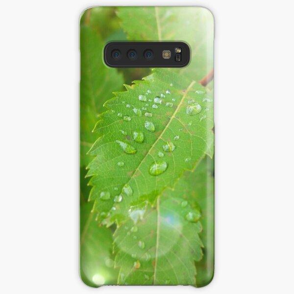 Magical Morning Dew Drops Samsung Galaxy Snap Case