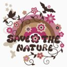 Earthday Save Nature by FamilyT-Shirts
