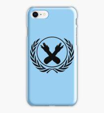 Nerdfighter Logo - Blue iPhone Case/Skin