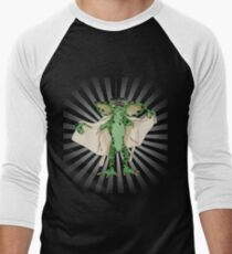 Flasher2 Men's Baseball ¾ T-Shirt