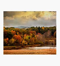 Autumn painting Photographic Print