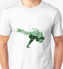 Judo Throw in Gi 2 Green T-Shirt