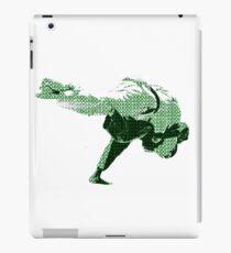 Judo Throw in Gi 2 Green iPad Case/Skin