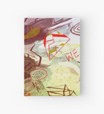 HERE WE ARE Hardcover Journal