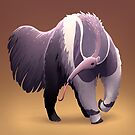 Giant Anteater by Tami Wicinas