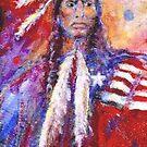 Blackfoot Indian by Barbara Lemley