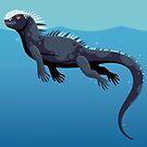 Marine Iguana by Tami Wicinas