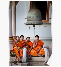 Young Monks Poster