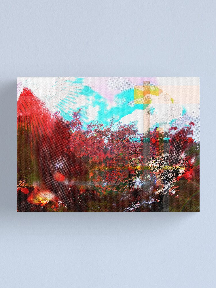 Alternate view of Earth Exploded in Autumn Canvas Print