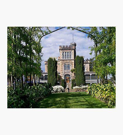 Lanarch Castle, Otago Peninsula, Dunedin, NZ. Photographic Print