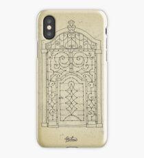 Italian oldstyle vintage door iPhone Case/Skin