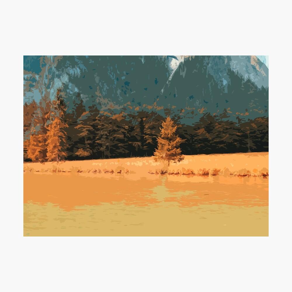 Orange Landschaft Königssee Germany Fotodruck