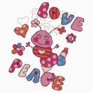 Peace Love Happiness by FamilyT-Shirts