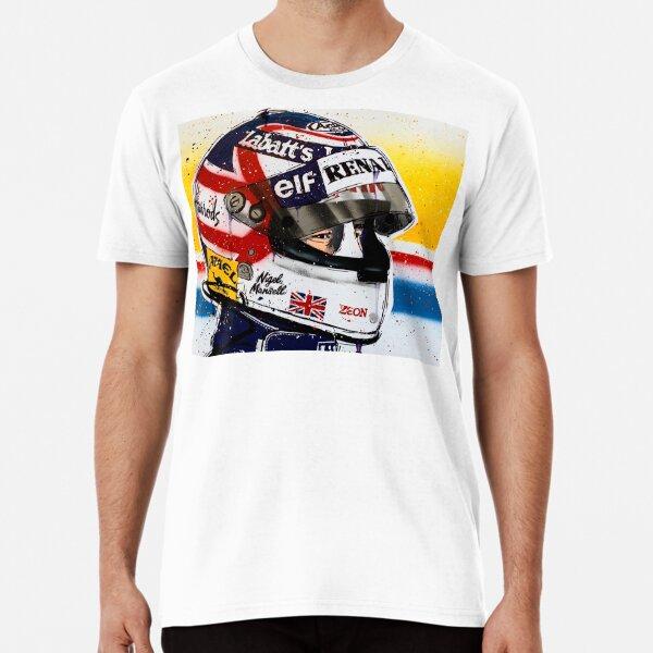 Nigel Mansell - Williams F1 graffiti painting by DRAutoArt Premium T-Shirt