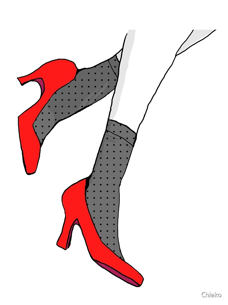 Red Heels by Chieko