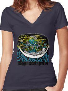 Dimentia 13 first album artwork Women's Fitted V-Neck T-Shirt