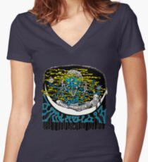 Dimentia 13 first album artwork Women's Fitted V-Neck T-Shirt