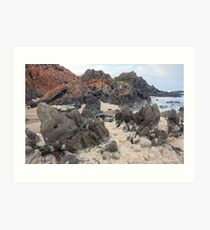 Natural froth, Chris Bell Art Print