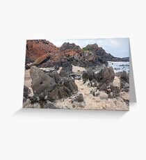 Natural froth, Chris Bell Greeting Card