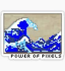 Power of Pixels Sticker