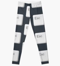 Esc-Taste Leggings
