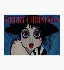 Tullulah / Merry Xmas Photographic Print