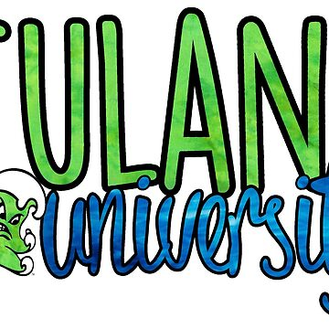 Tulane Two Tone w/ Riptide by katiefarello