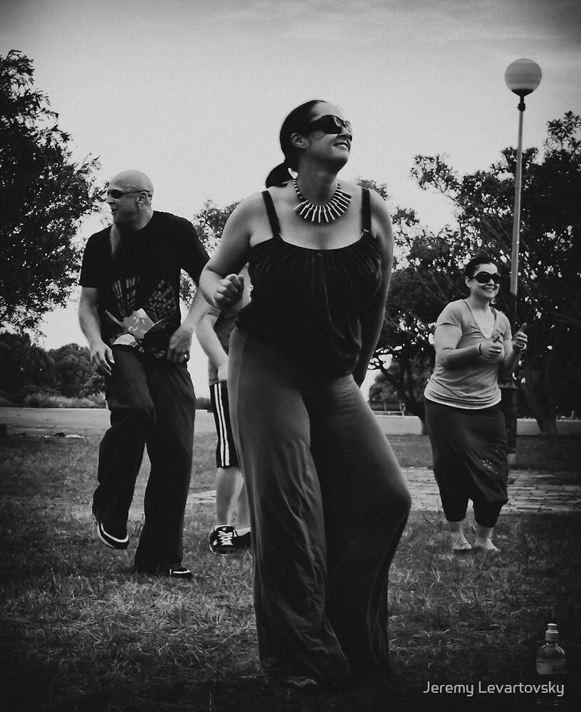Ravers in the Park by Jeremy Levartovsky