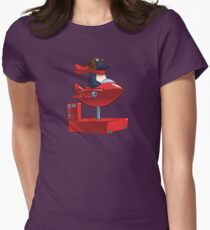 Insert Coin Womens Fitted T-Shirt