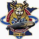 SSN-783 USS Minnesota by Nikki SpaceStuffPlus