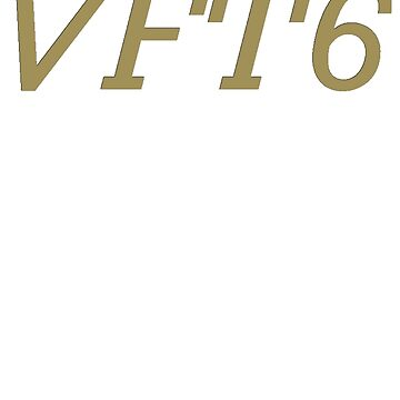 VFT6 [Gold] by scarammanga